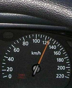 Traffic speed
