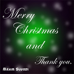 Merry Christmas and Thank You